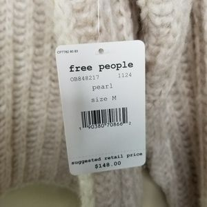 Free People Sweaters - Free People 'Pearl' Fluffy Knit Sweater NWT